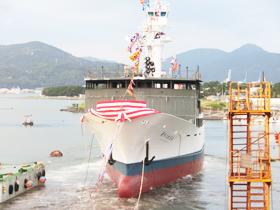 大中型まき網漁船